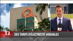 Des tarifs d'électricité variables