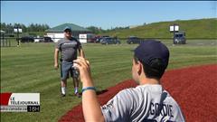 Ouverture d'un terrain de baseball spécial pour les joueurs ayant un handicap