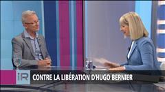 Contre la libération d'Hugo Bernier