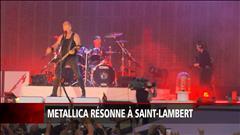 Metallica résonne à Saint-Lambert