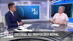 Entorse au protocole royal
