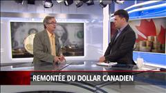 Remontée du dollar canadien