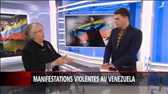 Manifestations violentes au Venezuela