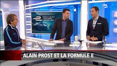 Alain Prost et la formule E