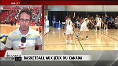 Jeux du Canada : l'équipe féminine de basketball du Manitoba en demi-finale