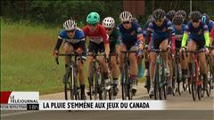 Dame pluie s'invite aux Jeux d'été du Canada