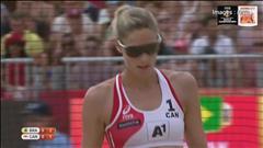 Pavan et Humana-Paredes terminent 4es aux mondiaux de volleyball de plage