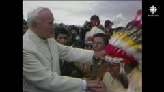 Il y a 30ans, le pape Jean-PaulII rencontrait les Autochtones