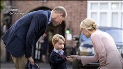 Le prince George rentre à l'école