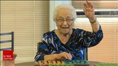 Lorraine Roberge, une centenaire au moral d'acier