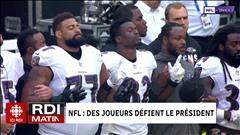 NFL : des joueurs défient le président