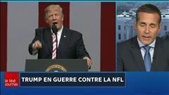 Trump se met les joueurs de la NFL à dos