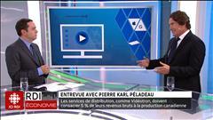 Entrevue avec Pierre Karl Péladeau