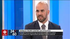 Donald Trump contre les athlètes