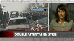 Un double attentat fait au moins 46 morts en Syrie