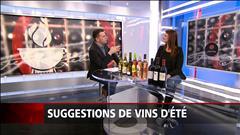 Suggestions de vins pour l'été