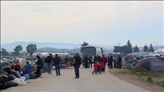 Évacuation du camp de migrants d'Idomeni, en Grèce