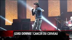 Gord Downie atteint d'un cancer en phase terminale