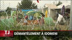 Démantèlement à Idomeni