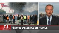 Pénurie d'essence en France