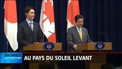 Trudeau vante le Canada aux constructeurs du Japon