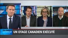Notre panel politique du 25 avril : un otage canadien exécuté