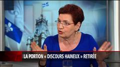 Entrevue avec Fatima Houda-Pepin