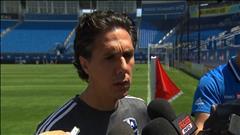 Entrevue avec l'entraîneur-chef de l'Impact de Montréal, Mauro Biello