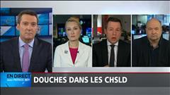 Notre panel politique du 26 mai : douches dans les CHSLD