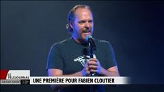 Une première pour Fabien Cloutier