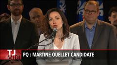 Ouellet officiellement candidate à la direction du PQ