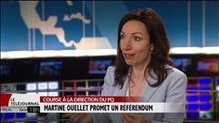 Martine Ouellet promet un référendum