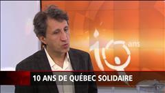 10 ans pour Québec solidaire