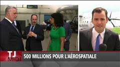250 millions pour l'industrie aérospatiale