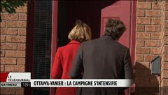 Ottawa-Vanier : la campagne s'intensifie