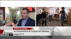Portes ouvertes au Conservatoire de musique de Gatineau