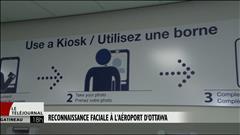 Découvrez les bornes de reconnaissance faciale de l'aéroport d'Ottawa