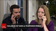 Failles du SS7 dans la téléphonie mobile