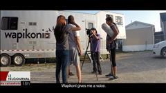 Le studio Wapikoni mobile à Pelican Narrows