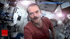 Chris Hadfield en spectacle à Regina