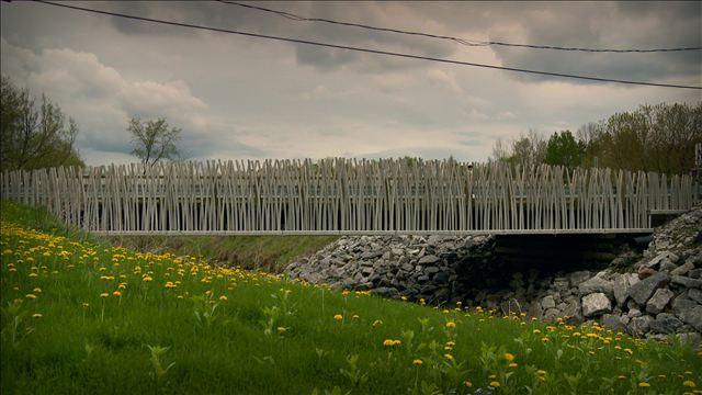 «Le Pont du Moulin de la Chevrotière» de Florent Cousineau