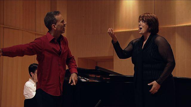 Audition de Lise Brunelle, Mezzo soprano