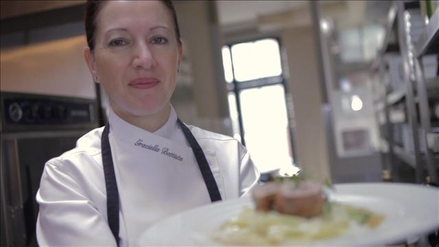 La chef Graziella Batista