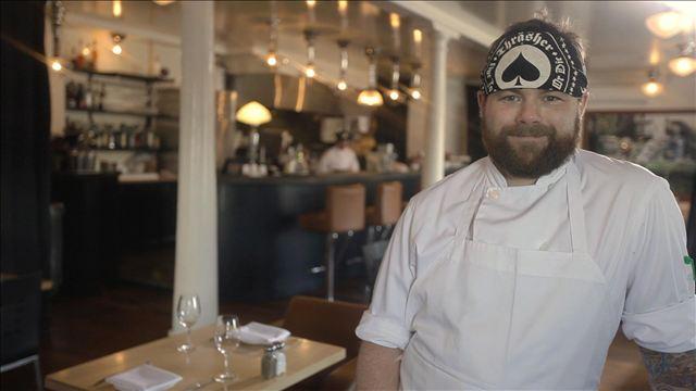 Le chef Nick Hodge