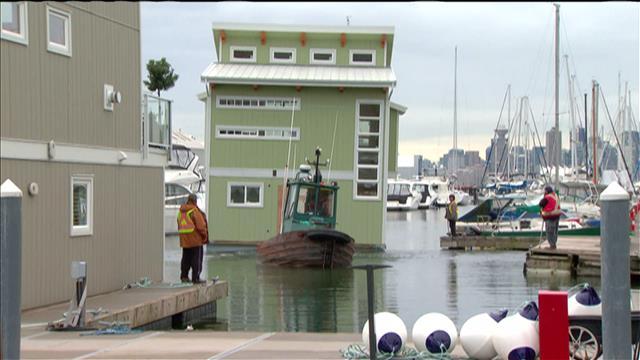 La vogue des maisons flottantes