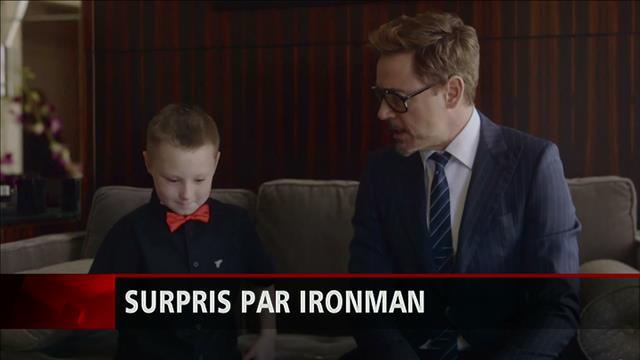 Une prothèse « Ironman » pour un jeune garçon