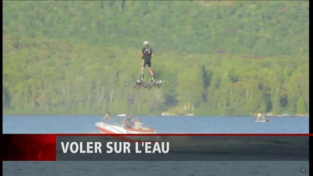 Plus long vol sur une planche volante : un record Guiness pour un Montréalais
