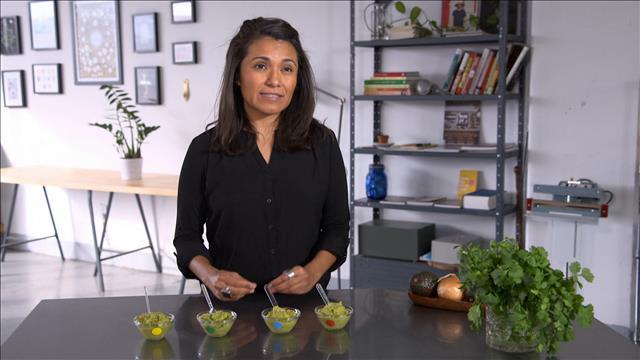 Un test de goût de guacamoles