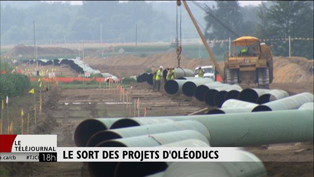 Ottawa doit décider de l'avenir de deux projets de pipelines d'Enbridge cette semaine