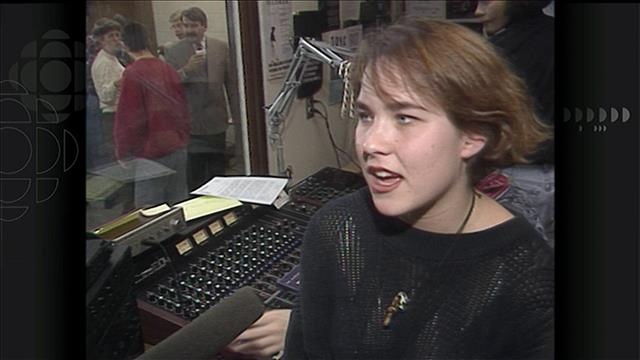 Coffre à souvenirs : En 1991, la radio du CLR inaugurait ses nouveaux studios